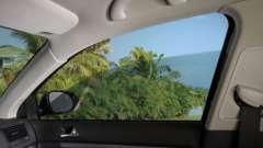 Тонировка атермальной пленкой стекол автомобиля