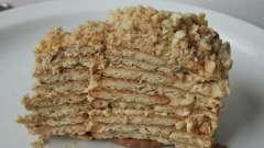 Торт из печенья и творога без выпечки: рецепт с фото