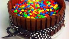 """Торт """"ммдемс"""": рецепт, особенности приготовления и отзывы. Торт с """"киткатом"""" и """"ммдемсом"""": рецепт"""