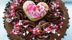 Торт на день влюбленных: пошаговый кулинарный рецепт. Торты на день святого валентина