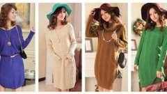 Трикотажные платья - тренд 2013 года