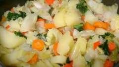 Тушеная капуста с картошкой в мультиварке: как приготовить вместе с фаршем?