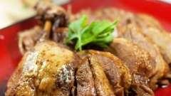 Тушеная утка в мультиварке: рецепт приготовления
