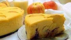 Творожная запеканка в духовке с яблоками. Рецепты