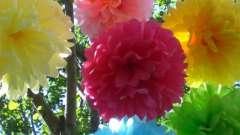 Учимся делать цветок из цветной бумаги своими руками (четыре способа)