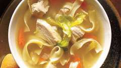 Учимся готовить. Рецепт куриного супа с вермишелью и другие идеи первых блюд