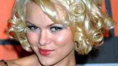Укладка волос локонами на средние волосы с челкой и без
