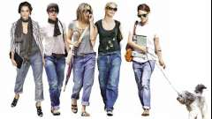 Ультрамодные джинсы-бойфренды