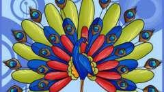Урок изобразительного искусства: как нарисовать павлина