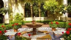 Устраиваем садовый фонтан