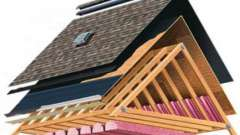 Утепление крыши - выбор материала