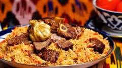 Узбекская кухня: особенности. Рецепт настоящего узбекского плова