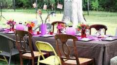 Веселый конкурс на юбилей за праздничным столом