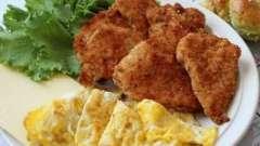 Вкусная курица в панировке, или как сделать сытное второе блюдо