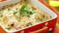 Вкусная овощноя запеканка с грибами, сыром или куриным фаршем
