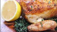 Вкусно запекаем курицу в рукаве