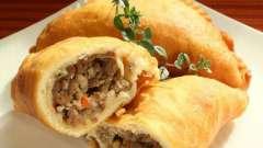 Вкусный пирожок с мясом: рецепт приготовления из слоеного и дрожжевого теста