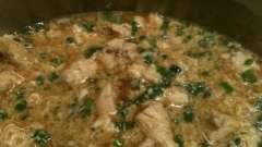 Вкусный рецепт быстрого приготовления: курица с рисом в мультиварке