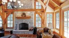 Внутренняя отделка дома - самые распространенные варианты