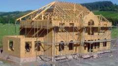 Внутренняя отделка домов из сип-панелей. Строительство сип-домов