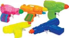 Водные пистолеты и другие игрушки для купания малышей