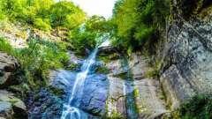 Водопад махунцети, созданный лучшим архитектором – природой