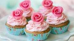 Восхитительные капкейки. Как украшать чашечные тортики