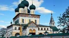 Воскресенский собор тутаева: история, архитектура, внутреннее убранство