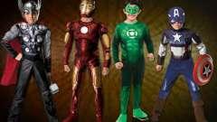 Выбираем костюмы супергероев для своих детей