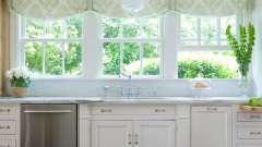 Выбираем шторы для кухни: римские шторы — идеальный вариант