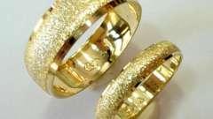 Выбираем свадебное кольцо
