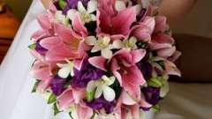 Выбираем свадебные букеты из лилий