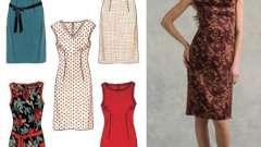 Выкройка платья-футляр и особенности пошива модели