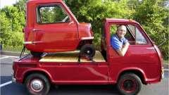 """""""Wind up!"""" - самый маленький автомобиль в мире"""