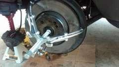 Задний тормозной диск: замена и ремонт