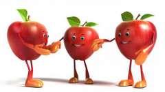 Загадка про яблоко - для детей и их родителей