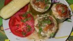 Запеченные кабачки с фаршем в духовке - простое и вкусное блюдо