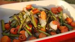 Запекать овощи в духовке легко и просто