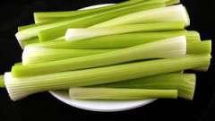 Здоровое питание или как едят сельдерей.