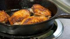 Жареные крылышки - несколько интересных рецептов