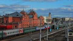 Железнодорожный вокзал казани. История и современность