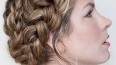 Женские прически: плетем колоски косичкой