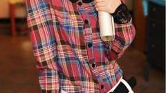 Женские рубашки в клетку - модно во все времена
