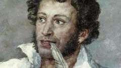 Знак зодиака пушкина - близнецы